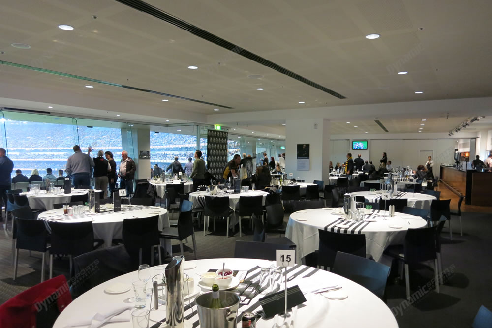 Melbourne vs collingwood mcg corporate boxes suites for Dining room 211 melbourne