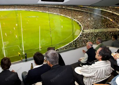 MCG Corporate Box - End On Box