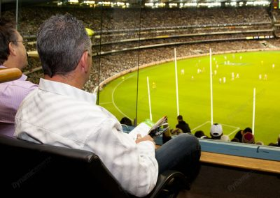 MCG Corporate Box - view to field
