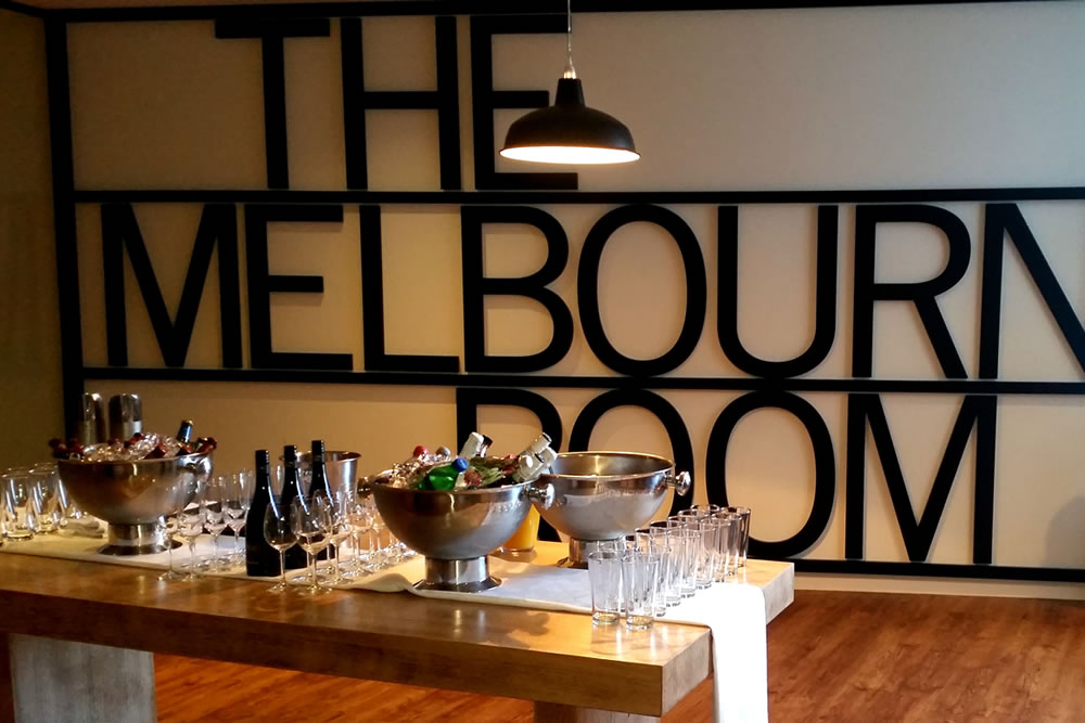 the melbourne room - corporate dining package at the mcg