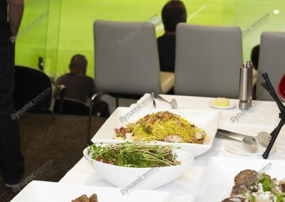 MCG Corporate Box Buffet Meal