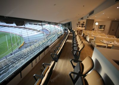 The Audi Suite MCG Intneral